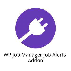 WP Job Manager Job Alerts Addon 1.5.0