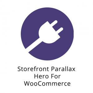 WooCommerce Storefront Parallax Hero 1.5.5