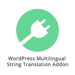 WordPress Multilingual String Translation Addon 2.7.1