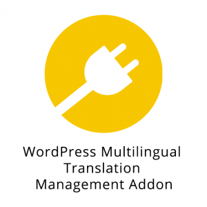 WordPress Multilingual Translation Management Addon 2.5.0