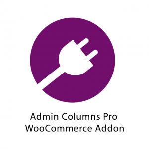 Admin Columns Pro WooCommerce Addon 3.0.2