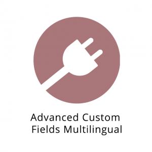 Advanced Custom Fields Multilingual 0.7