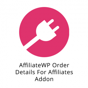 AffiliateWP Order Details For Affiliates Addon 1.1.5
