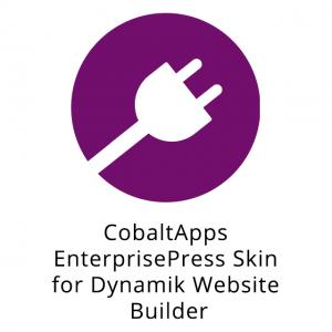 CobaltApps EnterprisePress Skin for Dynamik Website Builder 1.0.0