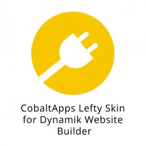 CobaltApps Lefty Skin for Dynamik Website Builder 1.0.0