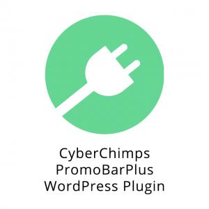 CyberChimps PromoBarPlus WordPress Plugin 1.4