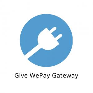 Give WePay Gateway 1.3.2