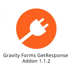 Gravity Forms GetResponse Addon 1.1.2