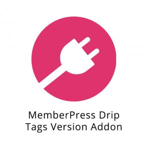 MemberPress Drip Tags Version Addon 1.0.1