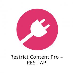 Restrict Content Pro – REST API 1.0.4