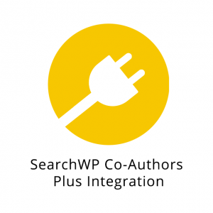 SearchWP Co-Authors Plus Integration 1.0.0