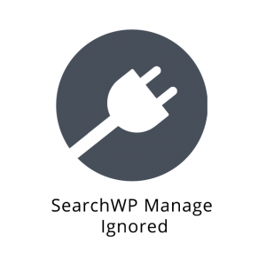 SearchWP Manage Ignored 1.0.0