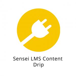 Sensei LMS Content Drip 1.0.8
