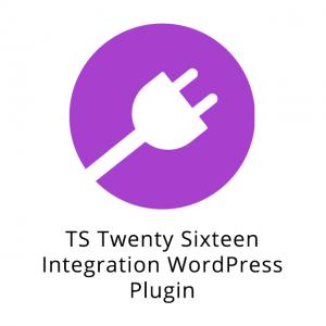 TS Twenty Sixteen Integration WordPress Plugin 1.4.1