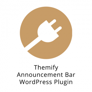 Themify Announcement Bar WordPress Plugin 1.2.6