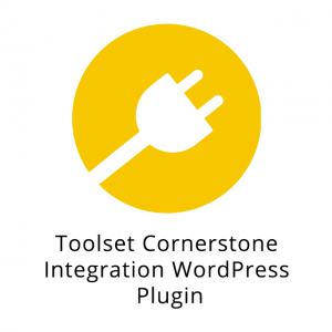 Toolset Cornerstone Integration WordPress Plugin 1.2
