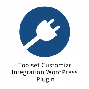 Toolset Customizr Integration WordPress Plugin 1.3