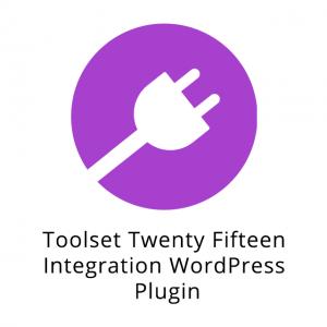 Toolset Twenty Fifteen Integration WordPress Plugin 1.4