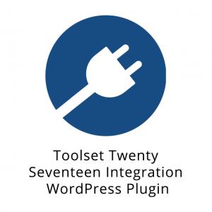 Toolset Twenty Seventeen Integration WordPress Plugin 1.2.1