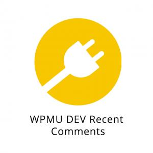 WPMU DEV Recent Comments 1.0.2.1