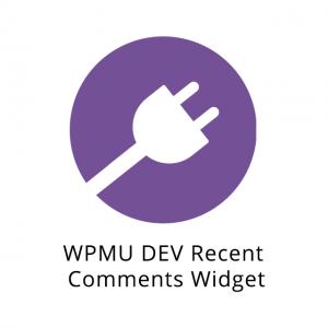WPMU DEV Recent Comments Widget 1.0.4.2