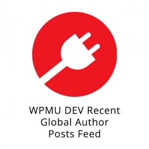 WPMU DEV Recent Global Author Posts Feed 3.0.2