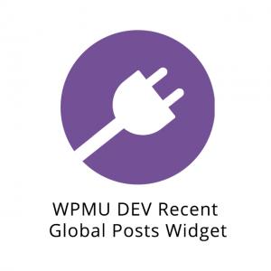 WPMU DEV Recent Global Posts Widget 3.0.6