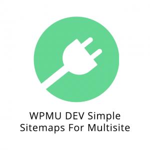 WPMU DEV Simple Sitemaps For Multisite 1.1.0