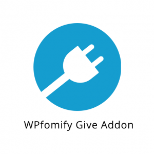 WPfomify Give Addon 1.0.0