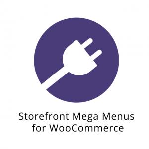 WooCommerce Storefront Mega Menus 1.6.0