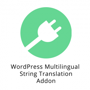 WordPress Multilingual String Translation Addon 2.7.3