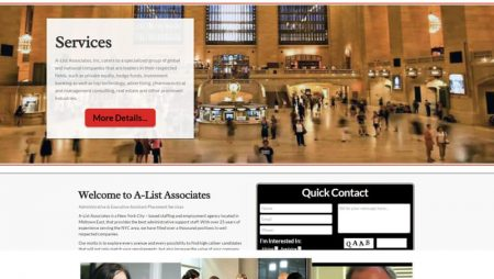 Executive Assistant Staffing and Employment Agency Firm New York, NYC